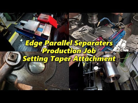 SNS 184: Edge Parallel Separaters, Production Job, Taper Attachment, Indicating Coupling