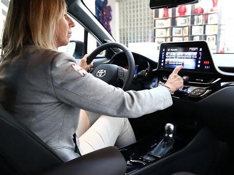 A bord du Toyota C-HR