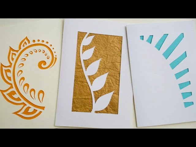 How to make greeting cards paper cutting art m4hsunfo Gallery