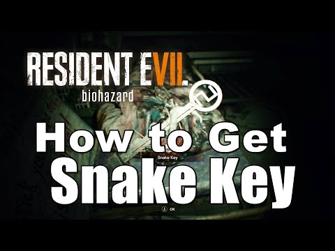 Resident Evil 7 biohazard - How to Get the Snake Key Location Guide