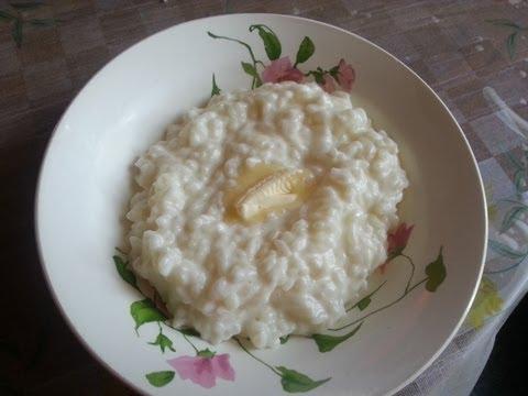 Рецепт: Рисовая каша на молоке в мультиварке - все рецепты