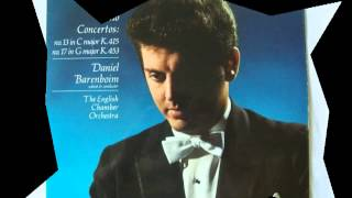 DANIEL BARENBOIM ~ Mozart Piano Sonata # 11, K.331 - remastered