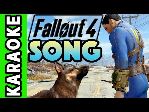 "Fallout 4 SONG ""Lucky Ones"" TryHardNinja and Dan Bull (Instrumental / Karaoke)"