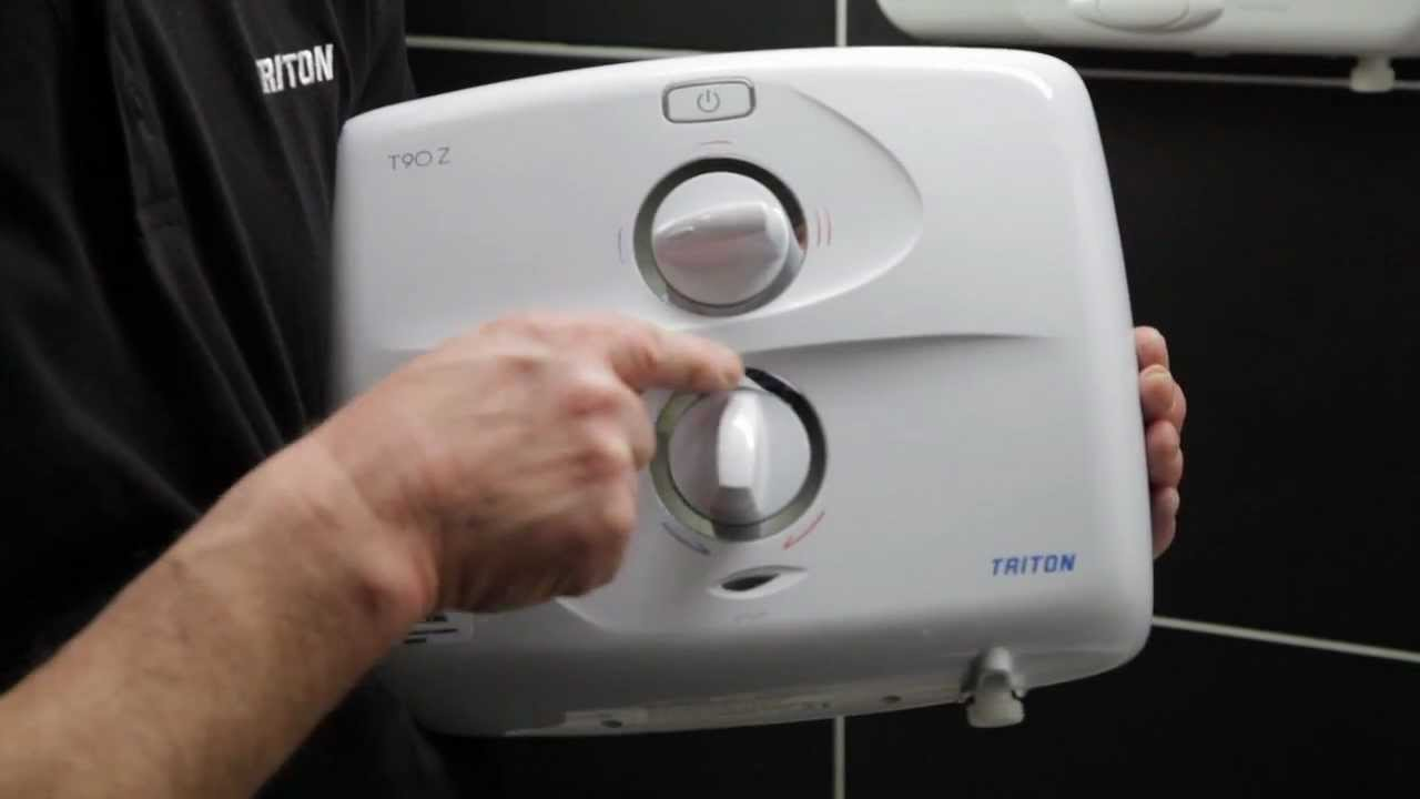 Electric Showers Quot T90z Pumped Quot Video From Triton Showers