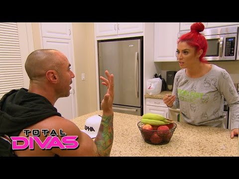Eva Marie confronts Jonathan about secretly calling her boss: Total Divas, January 18, 2015