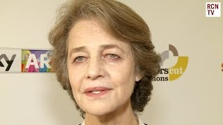 Charlotte Rampling Interview - 45 Years & Tom Couretnay