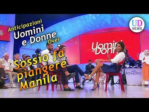 Anticipazioni Uomini e Donne Senior: Sossio fa piangere Manila, che abbandona lo studio!