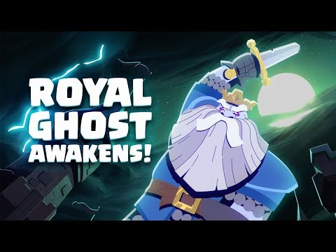Clash Royale: Royal Ghost Awakens! (New Legendary Card!)