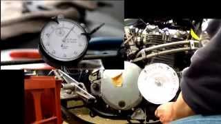 Motorcycle Kawasaki Z 900 バルブタイミング調整 Valve Adjustments