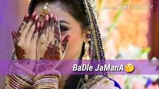 Sajan mere ek tujhpe bharosa h WhatsApp status very romantic song for wading