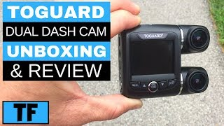Best Budget Dash Cam for Lyft and UBER 2018 (Dual Front Rear 1080P Cameras) - Toguard FHD Review