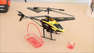 Hornet Transport RC Helicopter With Winch! - Gadgets Review Geek
