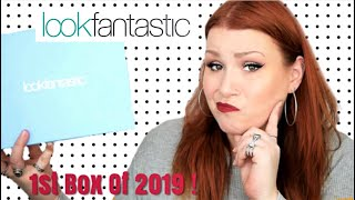 Look Fantastic January 2019 Beauty Subscription Box Unboxing