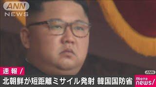 巡航ミサイルか 北朝鮮が日本海に向け飛翔体発射(20/04/14)