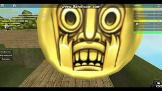 Tiana Rages] Roblox-TempleRun