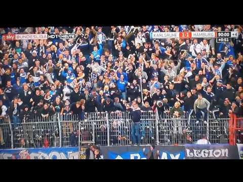 Karlsruhe – Hamburger SV Marcelo Diaz Free kick