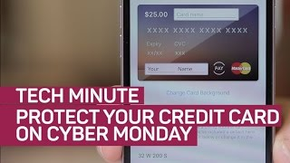Protect your credit card on Cyber Monday (Tech Minute)