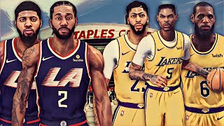 NBA 2K19 MyCareer - The Battle Of Los Angeles   Kawhi And Paul George Go To The Clippers!!