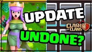 Update ROLLBACK? Glitches, Bugs, Clash of Clans Update Notes and Changes!