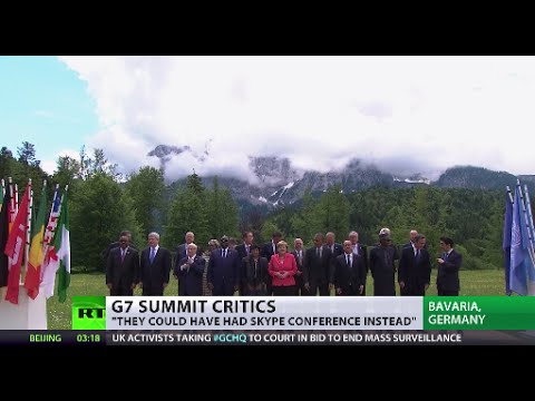 World leaders wrap up annual G7 summit in Germany