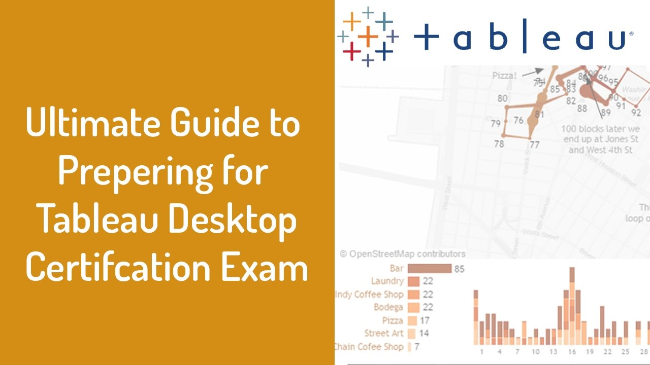 Ultimate Guide To Passing Tableau Desktop Certification Exam Youtube