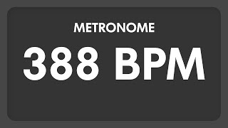 388 BPM - Metronome