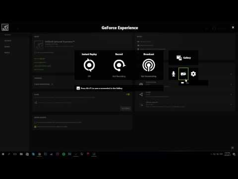 TUTORIAL | How To Record & Setup Nvidia ShadowPlay | Geforce Expirience New Update 3.1