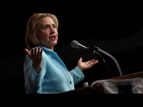 Clinton defends herself in email controversy