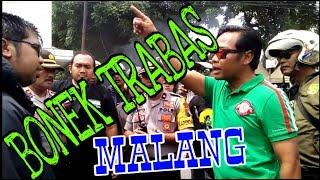 BONEK Trabas Malang, Di Cegah di Alun2 sidoarjo