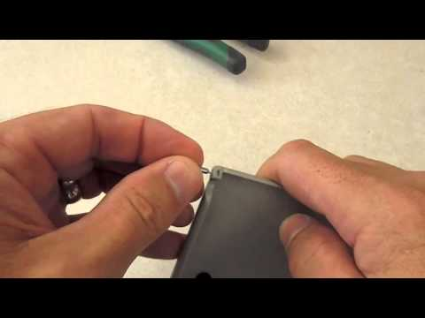 How To Repair A Broken Visor Mirror On A Saab 9-3