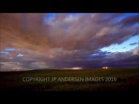 Airdrie Alberta  STORM lightning and Purple Rain