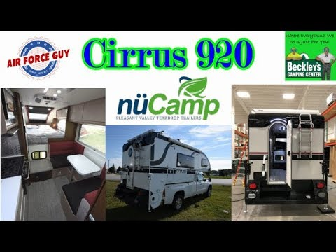 Cirrus 920 Truck Camper By Nucamp Rv W Paul Chamberlain Jr The Air Force Guy Youtube