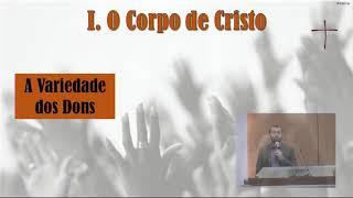 EBD PIPR | Aula 9: O Batismo com o Espírito Santo- I Cor 12:12-13 | Rev. Jaidson Araújo | 19.04.2020