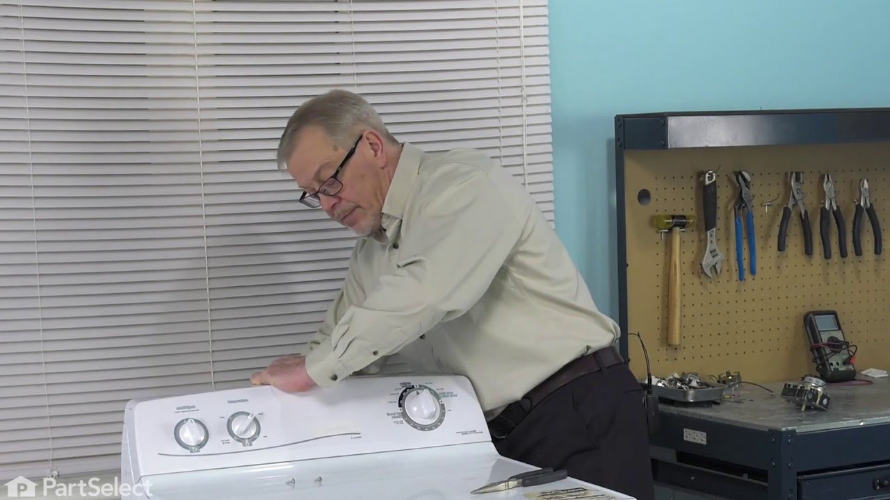 Dryer Repair - Replacing the 60 Hz Timer (GE Part # WE4M533) on