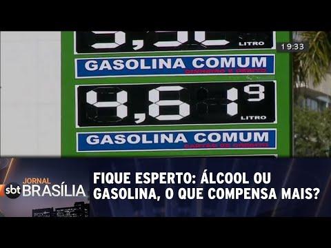 Fique esperto: álcool ou gasolina? | Jornal SBT Brasília 22/05/2018