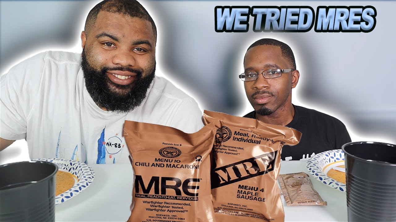 WE TRY MRE'S| MEALS READY TO EAT