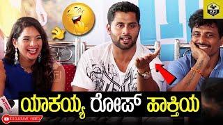 Abishek Ambareesh Funny Talk Infront Of Media Amar Kannada Movie Tanyahope Marethuhoyithe