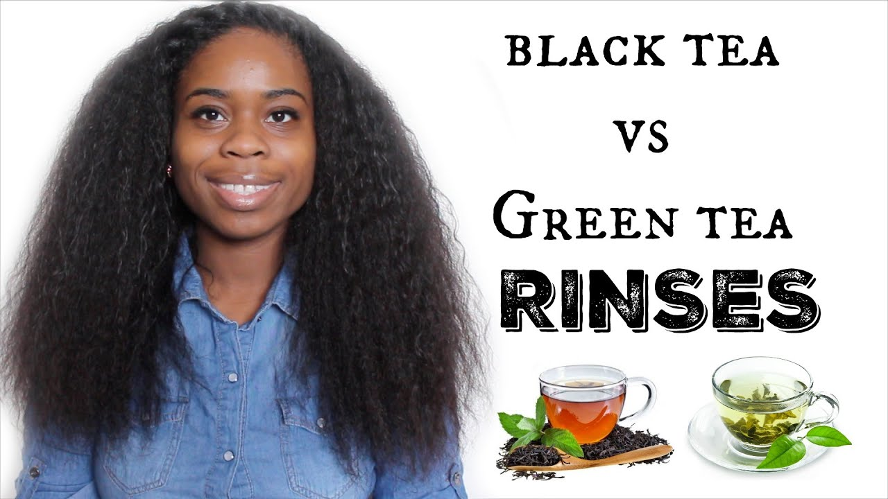 How To REDUCE Hair Shedding- Black Tea VS Green Tea? - YouTube