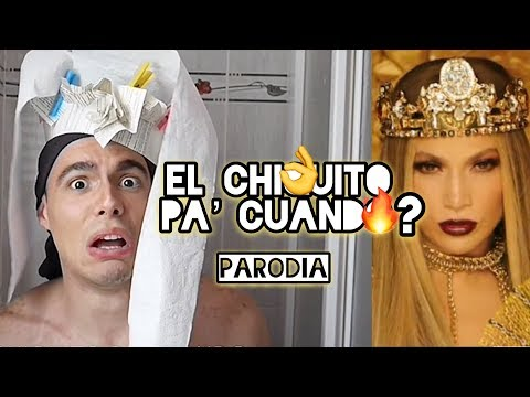 EL CHIQUITO PA' CUANDO  PARODIA DEL VIDEO