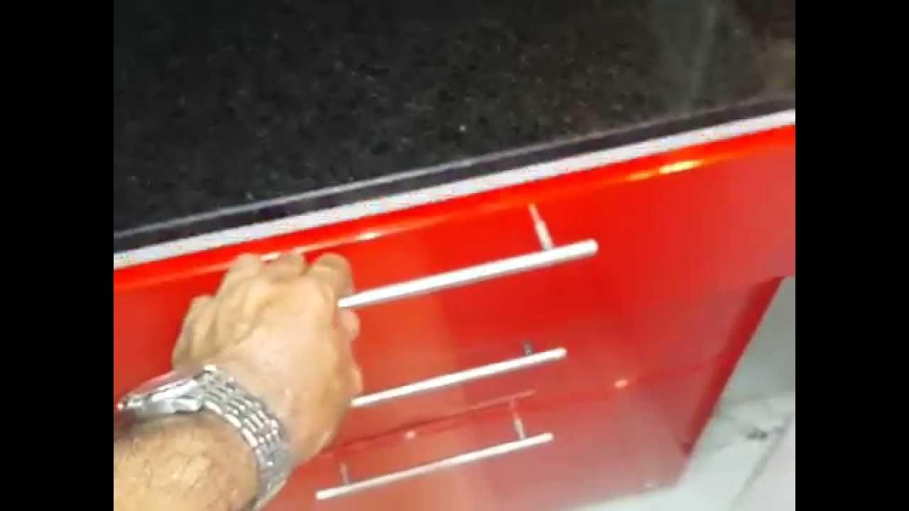 fabrica, muebles, cocina, laqueado, rojo, remodelacion, cocinas, TE ...