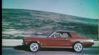 8 Great Ford Mustang Commercials from 1967