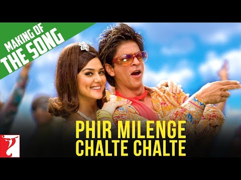 Making Of The Song  Phir Milenge Chalte Chalte  Rab Ne Bana Di Jodi  Shah Rukh Khan