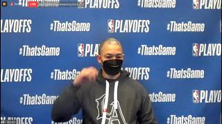 Ty Lue Postgame; Clippers beat the Jazz in Game 6