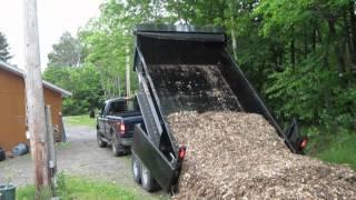 Mulch Unloading 6-2-1012