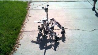 mars rover nxt vex hybrid robot with rocker bogie suspension