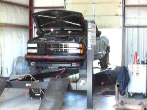 TBI 350 truck dyno pull