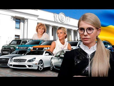 Автолюбительки: Шикарні іномарки жінок Верховної Ради