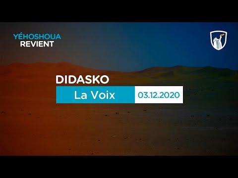 La Voix 4/5 - Didasko (03/12/20)