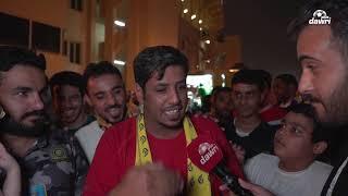 ردة فعل جماهير النصر بعد الفوز على الفتح في الجولة 28