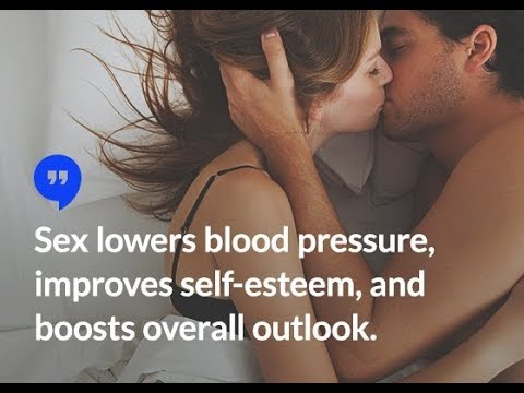 can sex help lower blood pressure